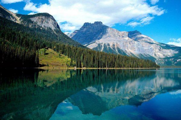 Flathead-Mountain-Lake-Wallpaper-Nature-HD-free-hd-1100x732