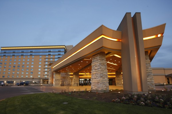 new hotel front