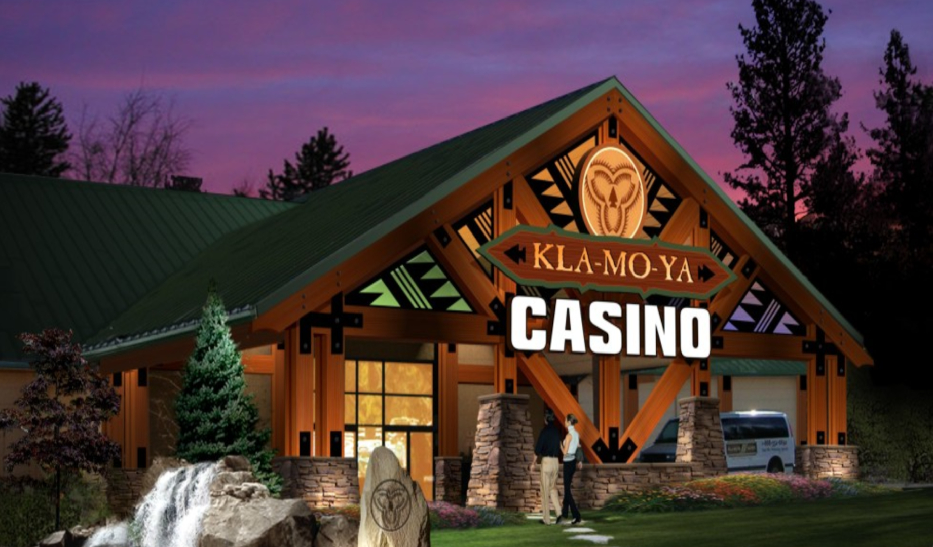Chiloquin Oregon The Kla Mo Ya Is A Tribal Owned Elishment Located In Klamath County Its Name Derived From Of